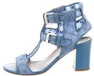 Laurence Dacade Eyelet Ankle Strap Sandals