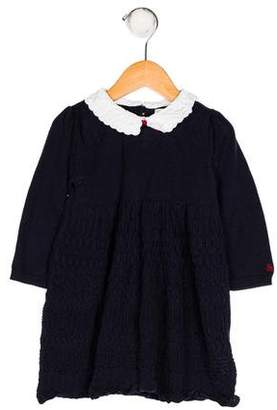 Ralph Lauren Girls' Knit Collared Dress