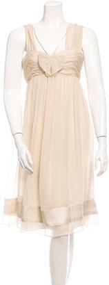 Vera Wang Sleeveless Dress $110 thestylecure.com