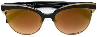 Diesel cat eye sunglasses