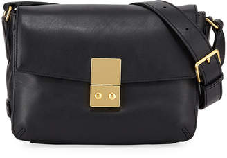 Cole Haan Allanna Leather Crossbody Bag, Black