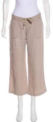 Juicy Couture Low-Rise Cropped Pants