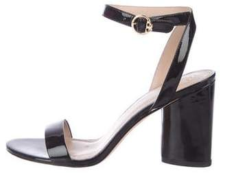 a1818bcd610280 Tory Burch Black Patent Leather Women s Sandals - ShopStyle