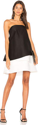 Halston Tiered Dress