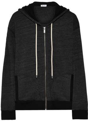 Splendid Tahoe Jersey Hooded Top - Black