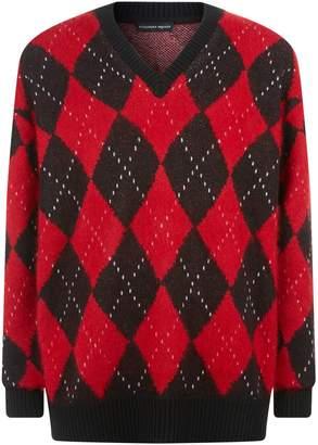 Alexander McQueen Argyle Sweater