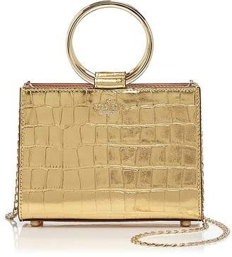 Kate Spade White Rock Road Luxe Mini Sam Leather Crossbody