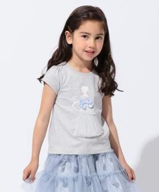 anyFAM (エニィファム) - anyFAM KIDS 【KIDS】プリンセス シルエットTシャツ