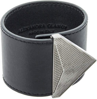 Alexandra Clancy Austin Leather Cuff Bracelet