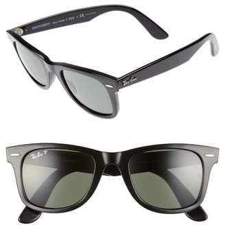 Ray-Ban 50mm Polarized Wayfarer Sunglasses