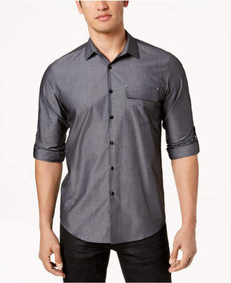 INC International Concepts I.n.c. Men's Utility Shirt, Created for Macy's