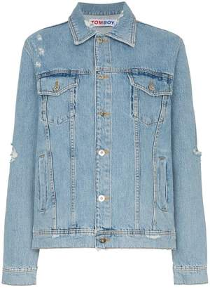 Filles a papa Tomboy Kurt denim jacket
