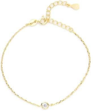 Stella and Bow Mars Bracelet - White