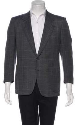 Givenchy Plaid Two-Button Blazer