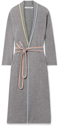 Chinti and Parker Cashmere Robe - Gray