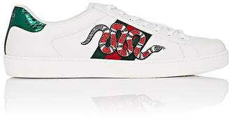 Gucci Men's New Ace Leather Sneakers