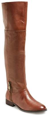 Chinese Laundry Fawn Leather Riding Boot