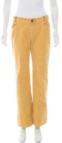 Marc by Marc Jacobs Corduroy Mid-Rise Pants
