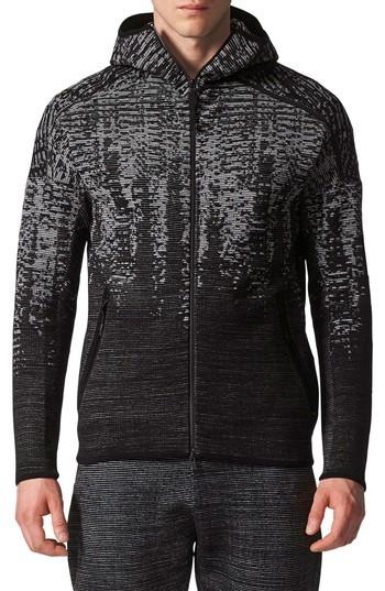 Men's Adidas Z.n.e. Pulse Knit Zip Hoodie