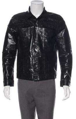 DSQUARED2 2017 Waxed Denim Jacket