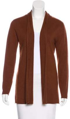 Neiman Marcus Cashmere Open Front Cardigan