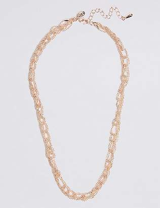 M&S Collection Looped Ball Chain Necklace