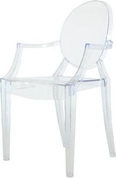 PRE Sales Phantom Resin Stacking Chair (Set of 4) PRE Sales