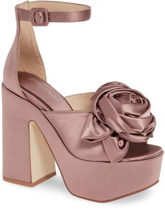 Jeffrey Campbell Candice Platform Ankle Strap Sandal