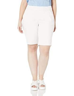 Jag Jeans Women's Plus Size Gracie Pull on Bermuda Short, W