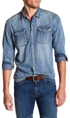 John Varvatos Collection Denim Regular Fit Shirt