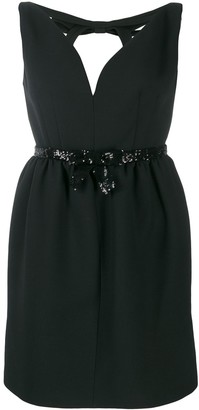 Miu Miu sequin-embellished mini dress