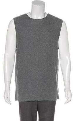 Alexander Wang Sleeveless Scoop Neck Sweatshirt