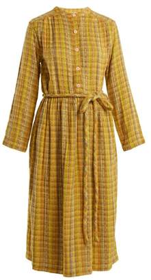 Ace&Jig Striped Cotton Blend Dress - Womens - Yellow