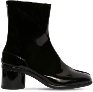 Maison Margiela 60mm Tabi Patent Leather Boots