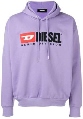 Diesel basic logo hoodie