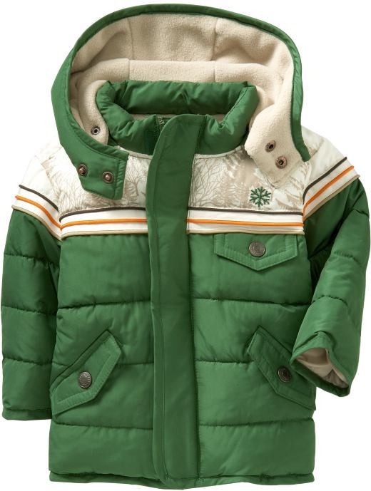 Frost Free Jackets for Baby