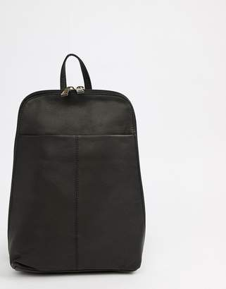 Asos DESIGN mini leather backpack