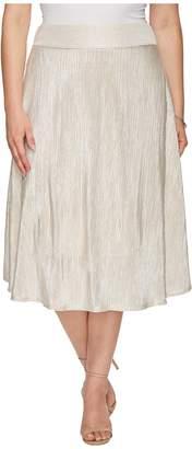 Kiyonna Kiss Me At Midnight Skirt Women's Skirt