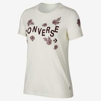 Converse Floral Crew Womens T-Shirt