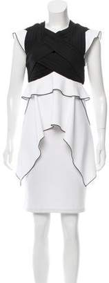 Proenza Schouler Cap Sleeve Pleated Top w/ Tags