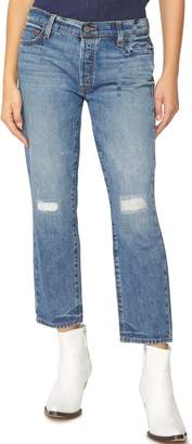 Sanctuary Disrupt Ripped & Repaired Boyfriend Jeans