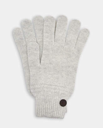 Ted Baker MULTGLO Multi stitch cashmere blend gloves