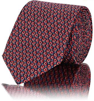 Lanvin Men's Abstract-Dot Silk Necktie