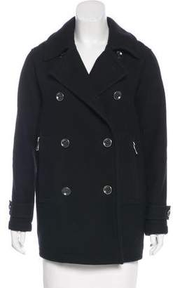 Burberry Wool-Blend Short Coat