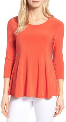 Women's Cece Knit Peplum Top $59 thestylecure.com