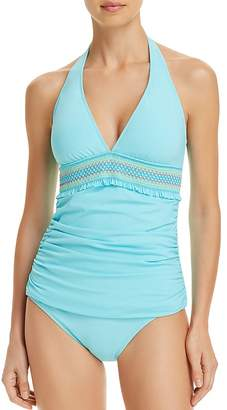 Bleu Rod Beattie Smock It to Ya Halter Tankini Top