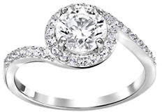 Swarovski Attract The Light Crystal Ring