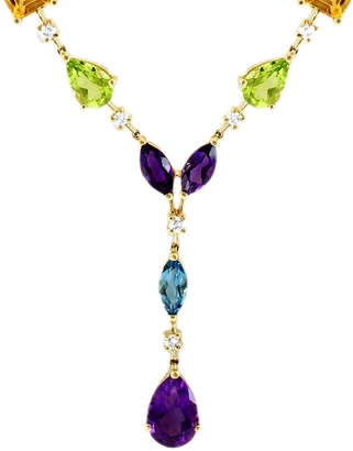 Effy Fine Jewelry 14K 15.80 Ct. Tw. Diamond & Gemstone Necklace