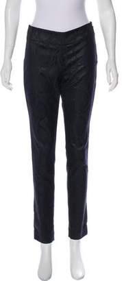 Donna Karan Printed Skinny Pants