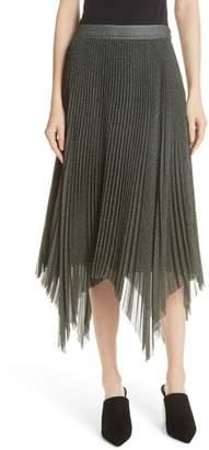 Jason Wu GREY Plaid Pleated Skirt